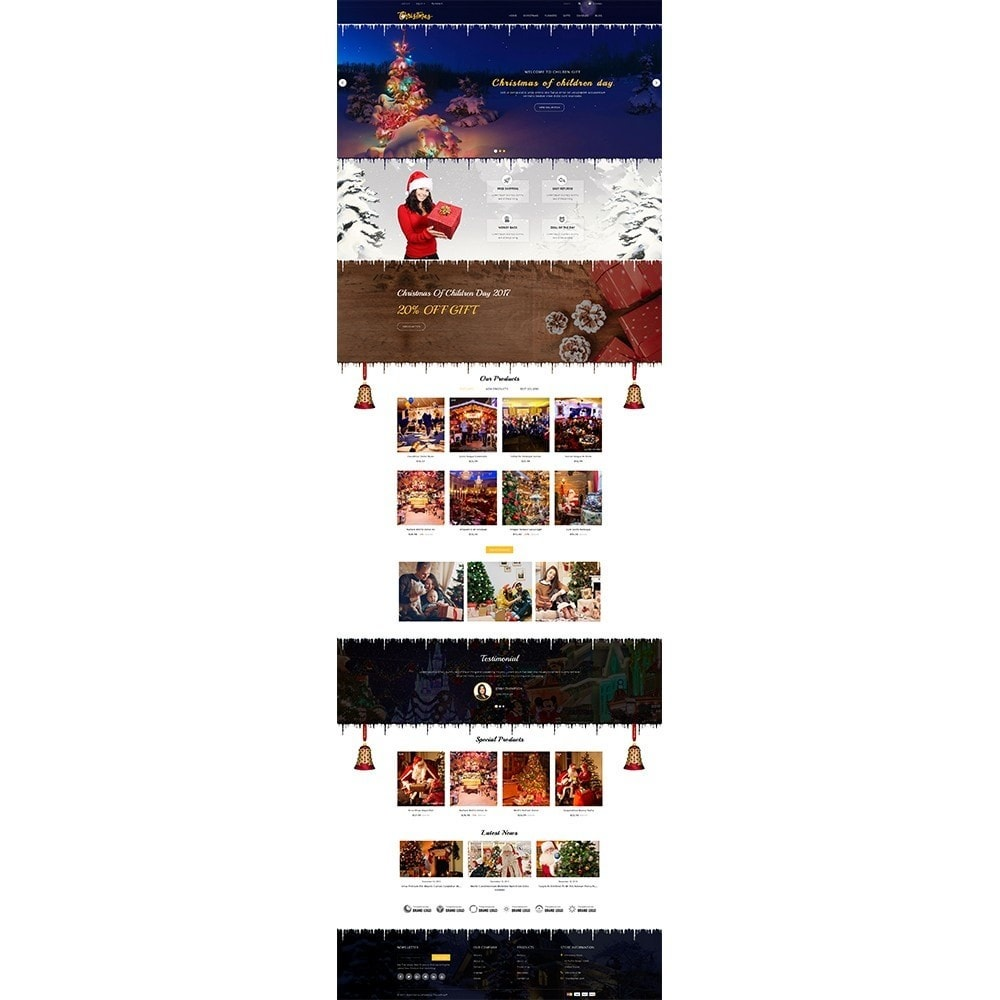 theme - Cadeaux, Fleurs et Fêtes - Christmas Store - 2