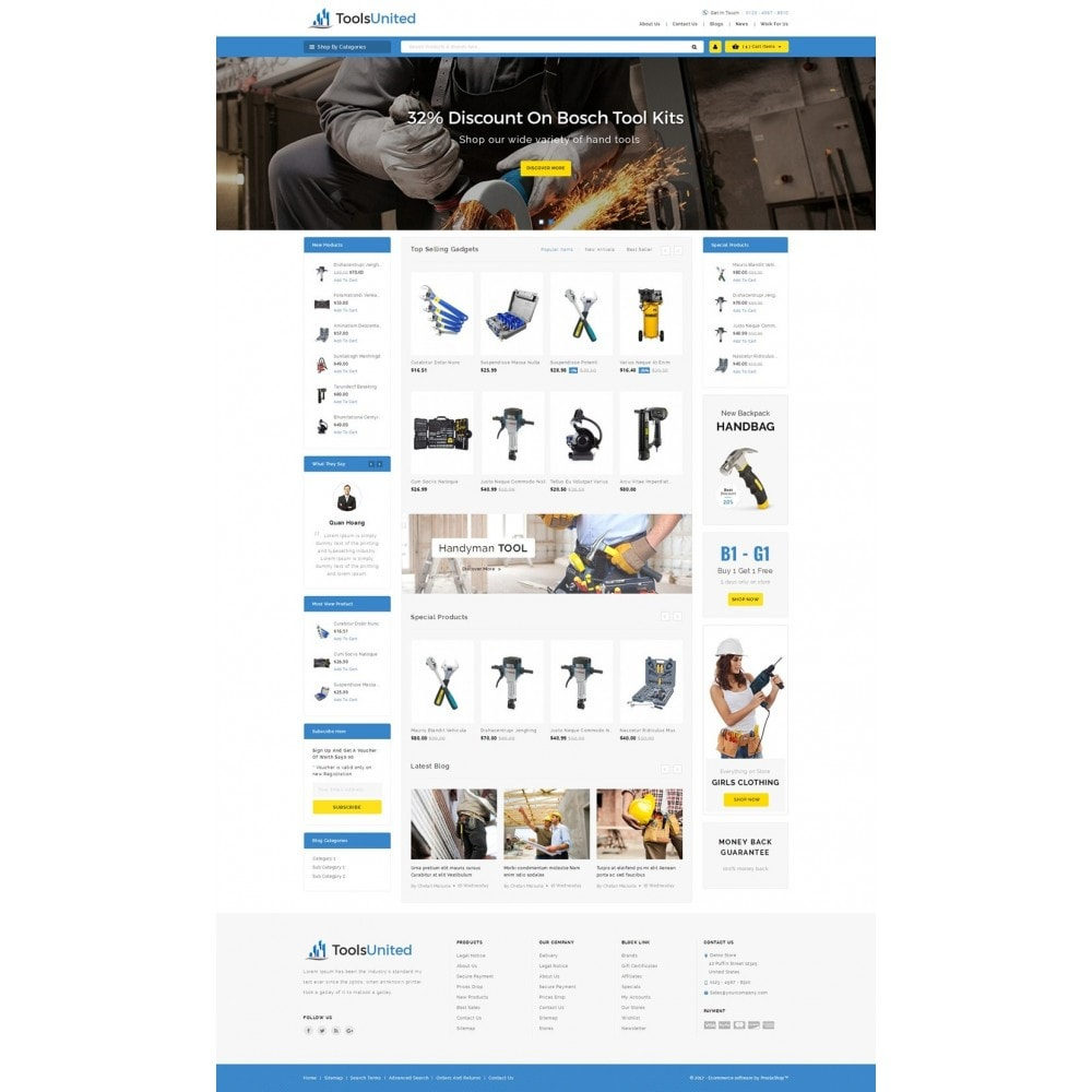 theme - Carros & Motos - Tools United Store - 2