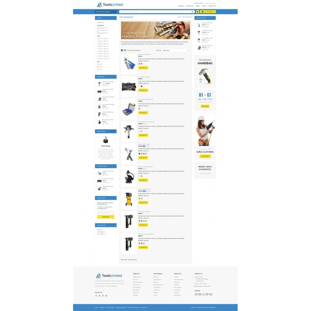 theme - Auto & Moto - Tools United Store - 4