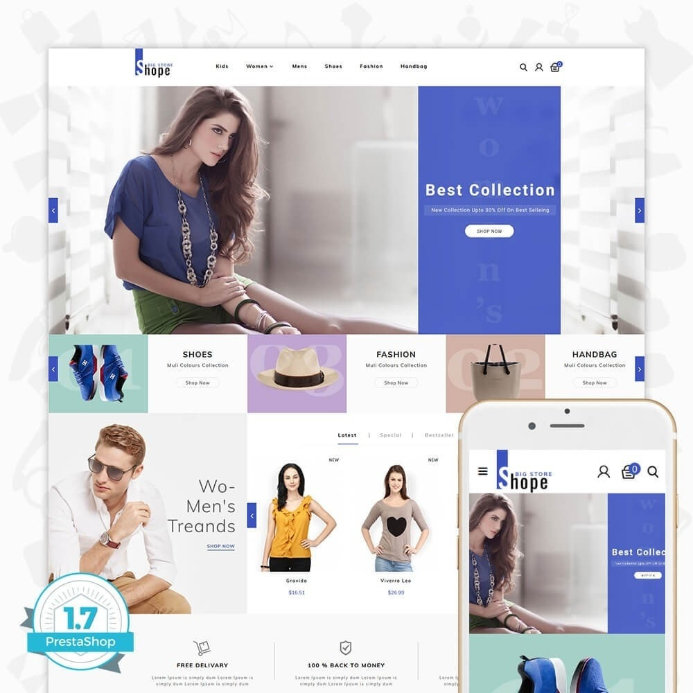 theme - Мода и обувь - BigShope - Big Fashion Store - 1