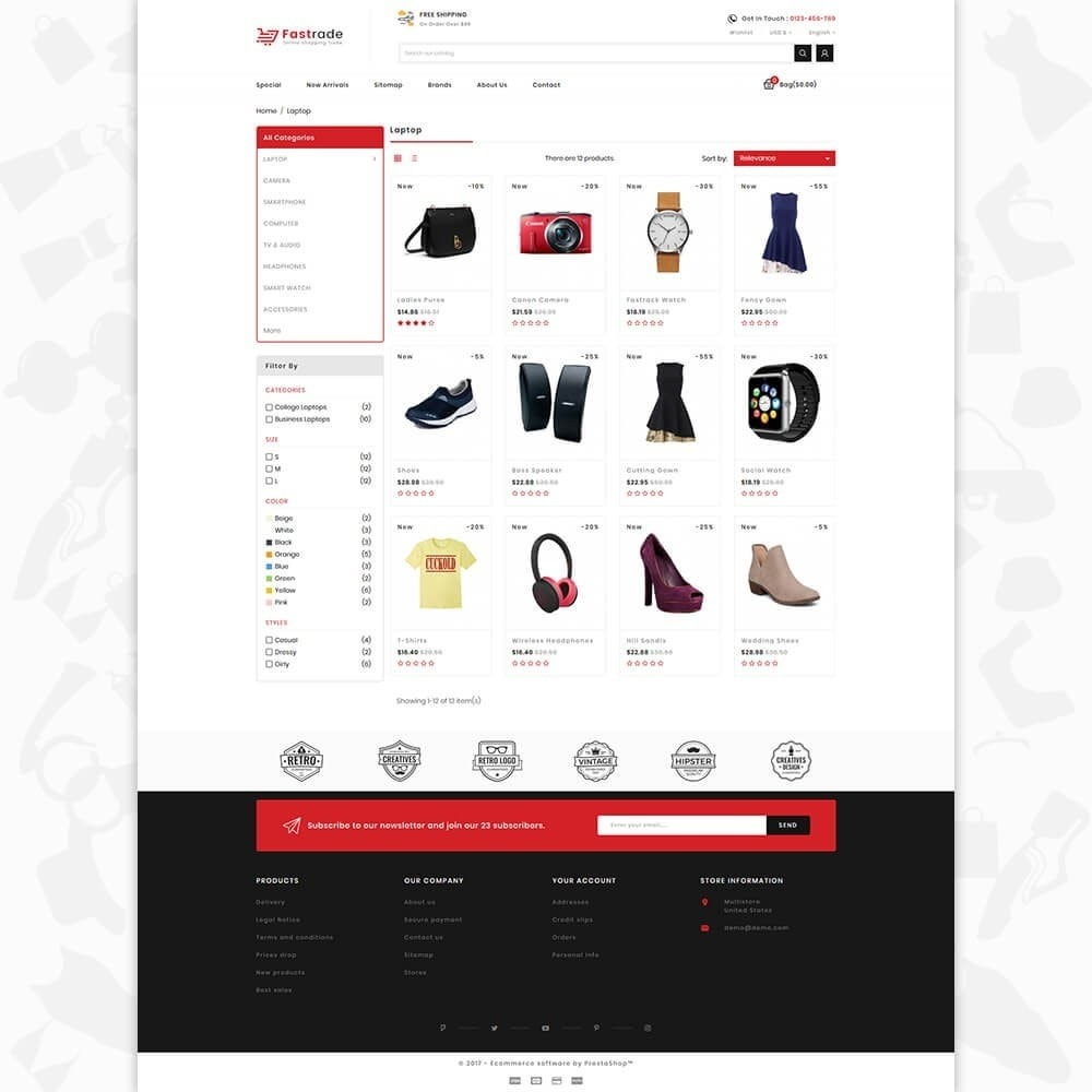 Fastrade - Online Shopping Trade