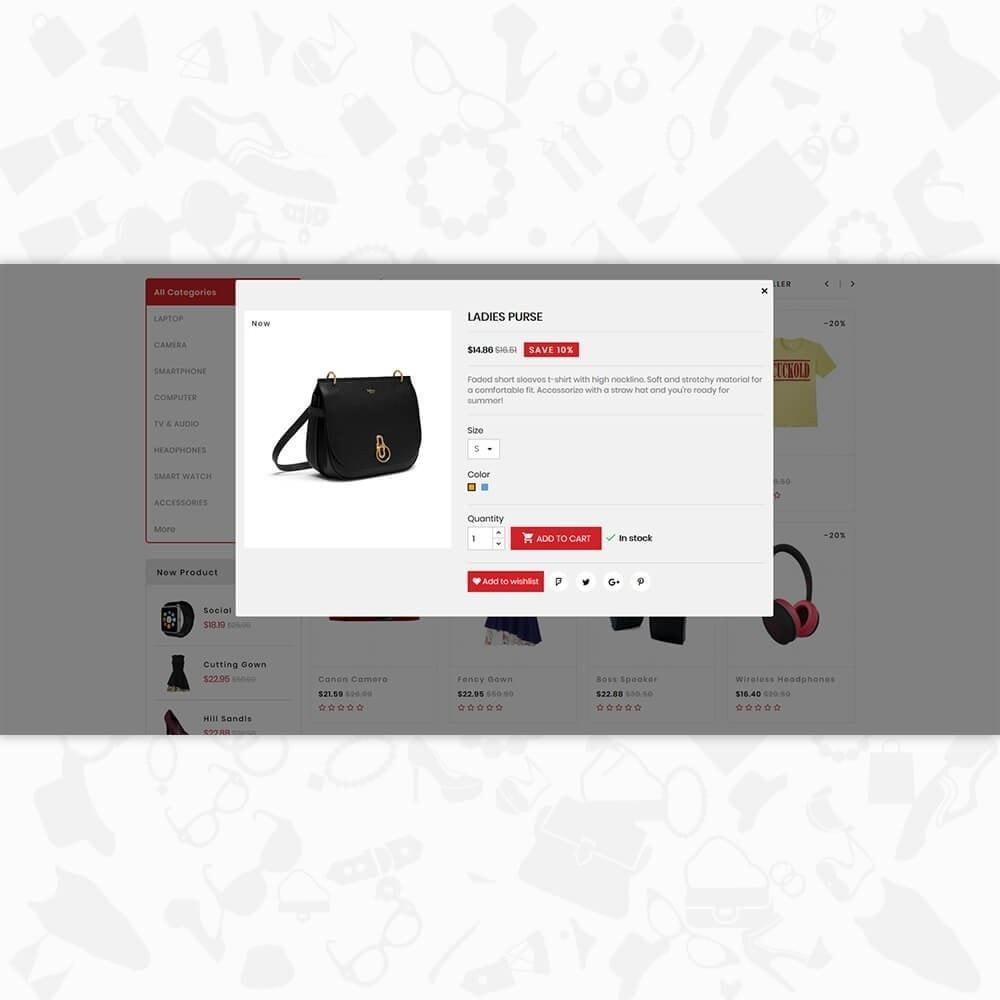 theme - Electronique & High Tech - Fastrade - Online Shopping Trade - 7