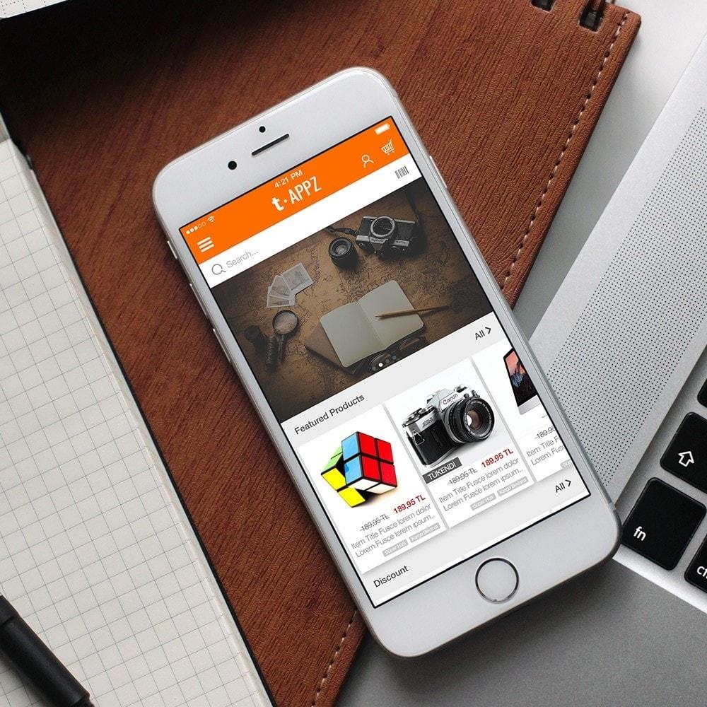 module - Mobile - t-APPZ Mobile App Creator - 2
