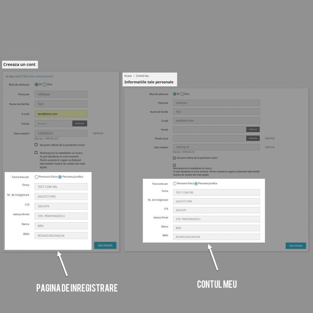 module - Бухгалтерии и выставления счетов - Facturare - Persoana Fizica sau Juridica - 6