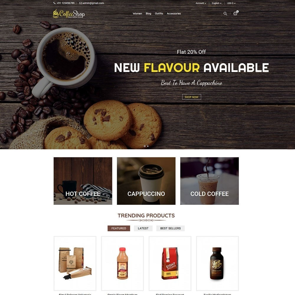 theme - Bebidas y Tabaco - Coffee Shop - 2