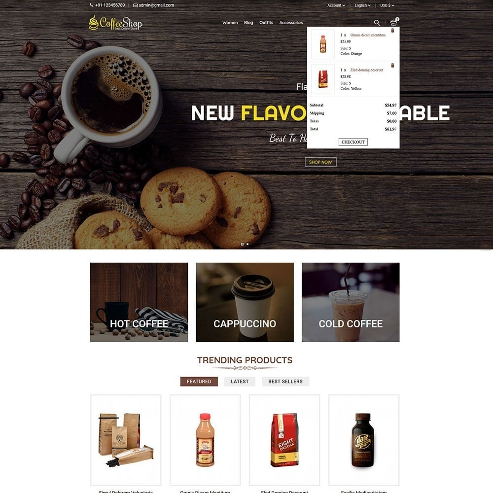 theme - Bebidas y Tabaco - Coffee Shop - 3