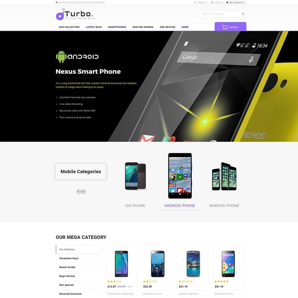 Turbo Mobile Store