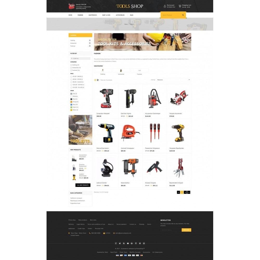 theme - Auto's & Motoren - Tools Shop - 3