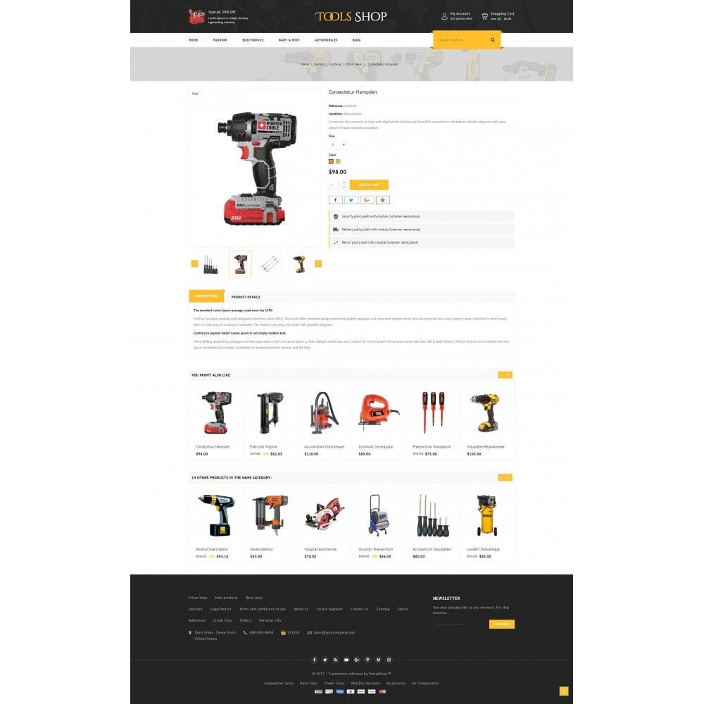 theme - Auto's & Motoren - Tools Shop - 5