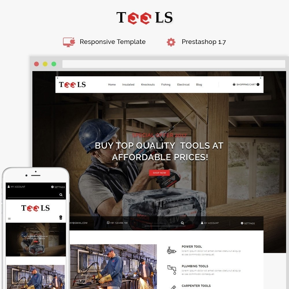 theme - Elettronica & High Tech - Tools Store - 1