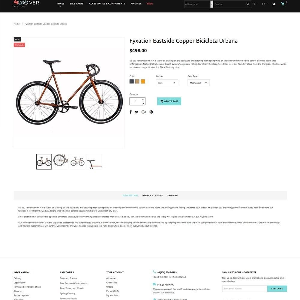 4Rover - Bike Store