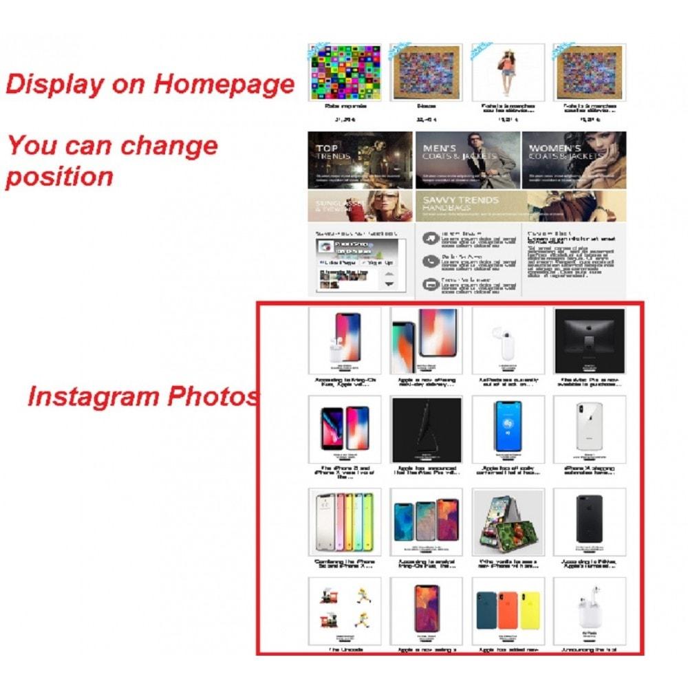 module - Compartir contenidos y Comentarios - Photos Sharing from Social Media - 4