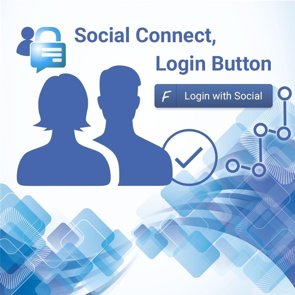 module - Botones de inicio de Sesión/Conexión - Facebook Login Button - 1
