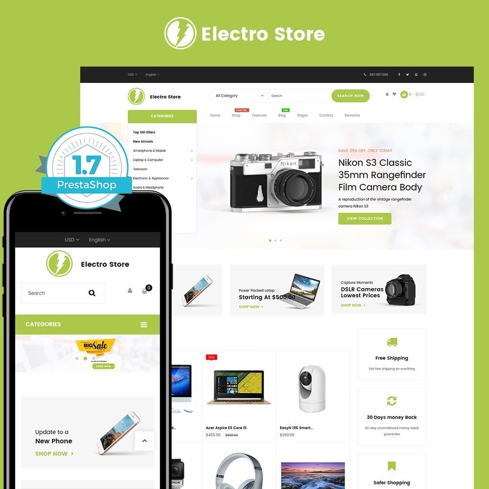 theme - Electronique & High Tech - Digital Store 1.7 - 1