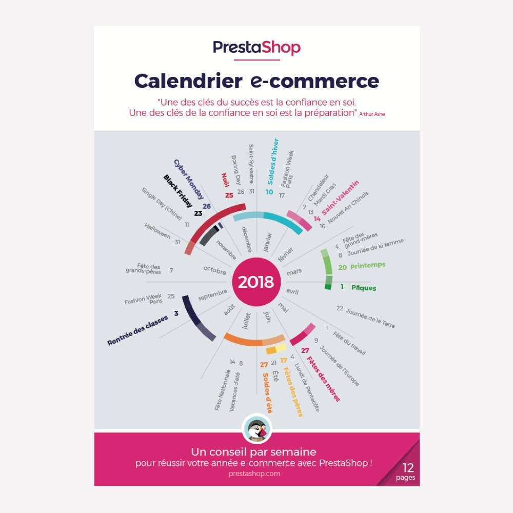 other - e-Commerce Calendar - France 2018 eCommerce Calendar - 1