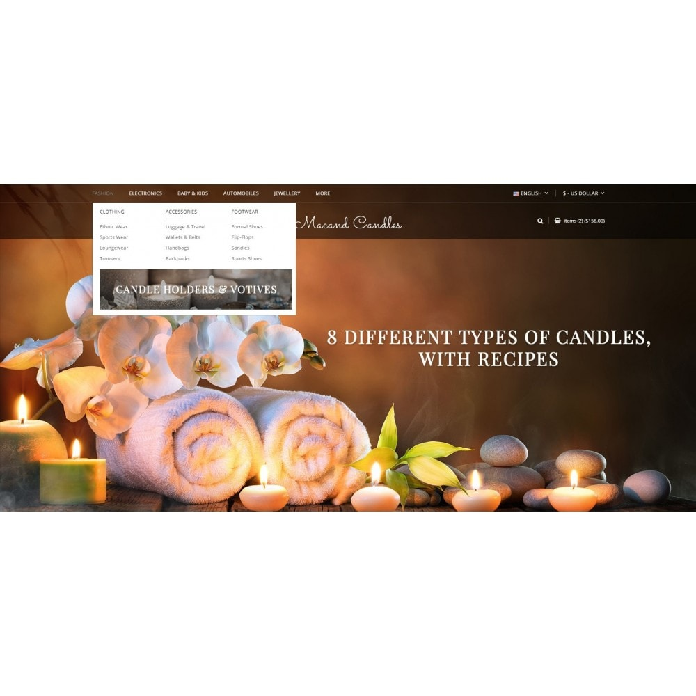 theme - Gifts, Flowers & Celebrations - Macand Candles Store - 6