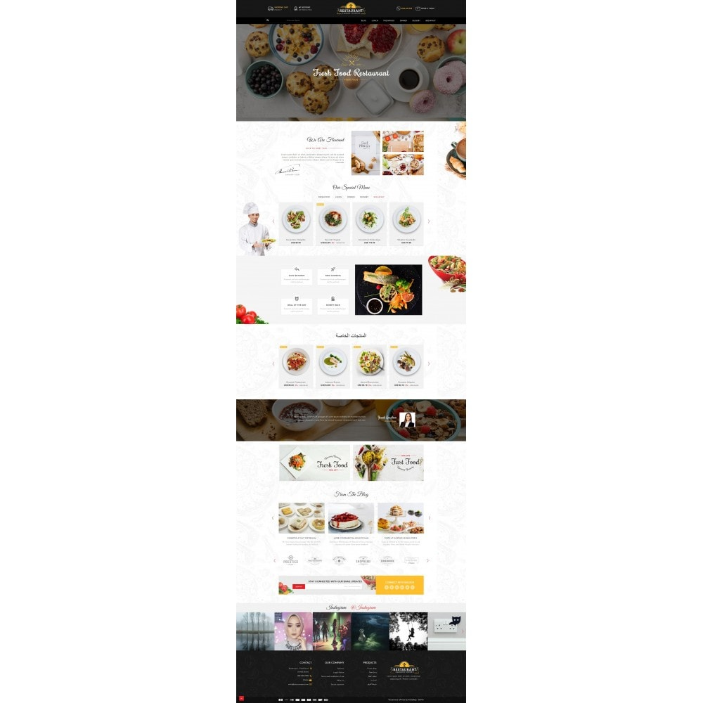 theme - Lebensmittel & Restaurants - Restaurant Food Store - 10