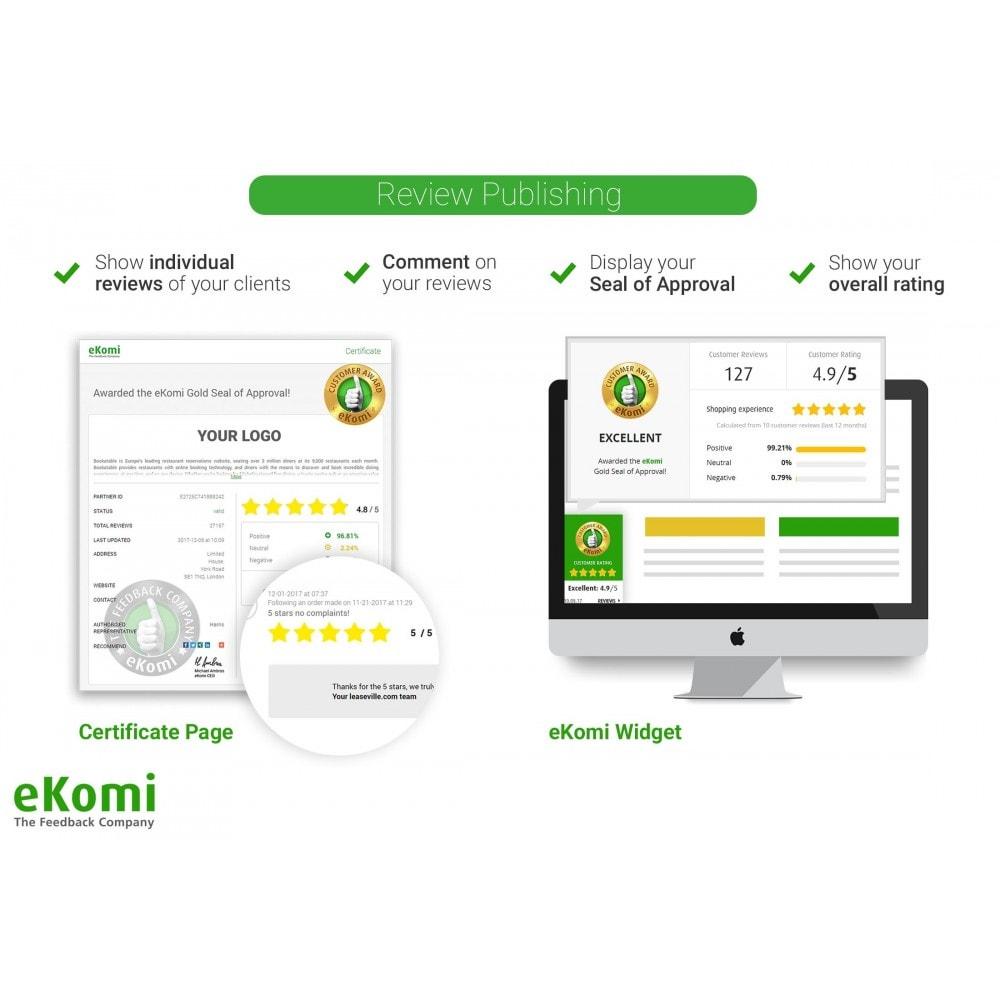 module - Recensioni clienti - Recensioni e valutazioni eKomi - 5