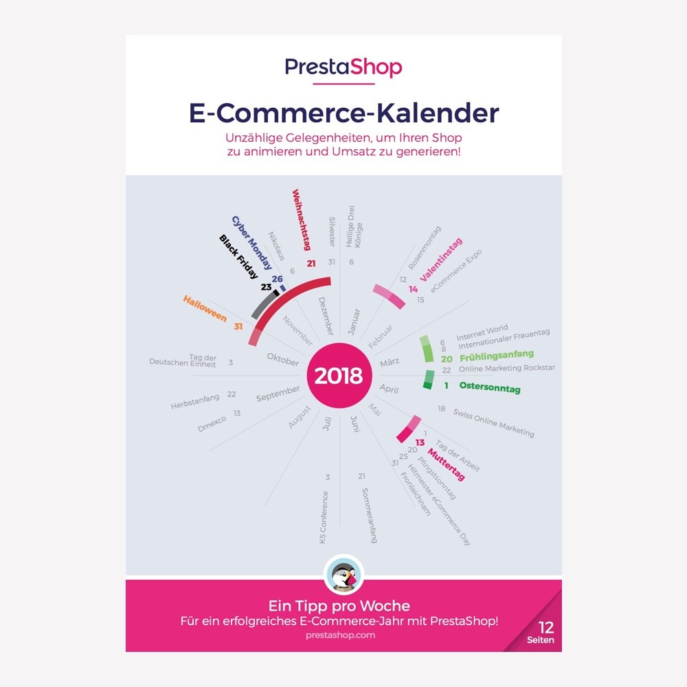 other - e-Commerce Calendar - Germany 2018 eCommerce Calendar - 1