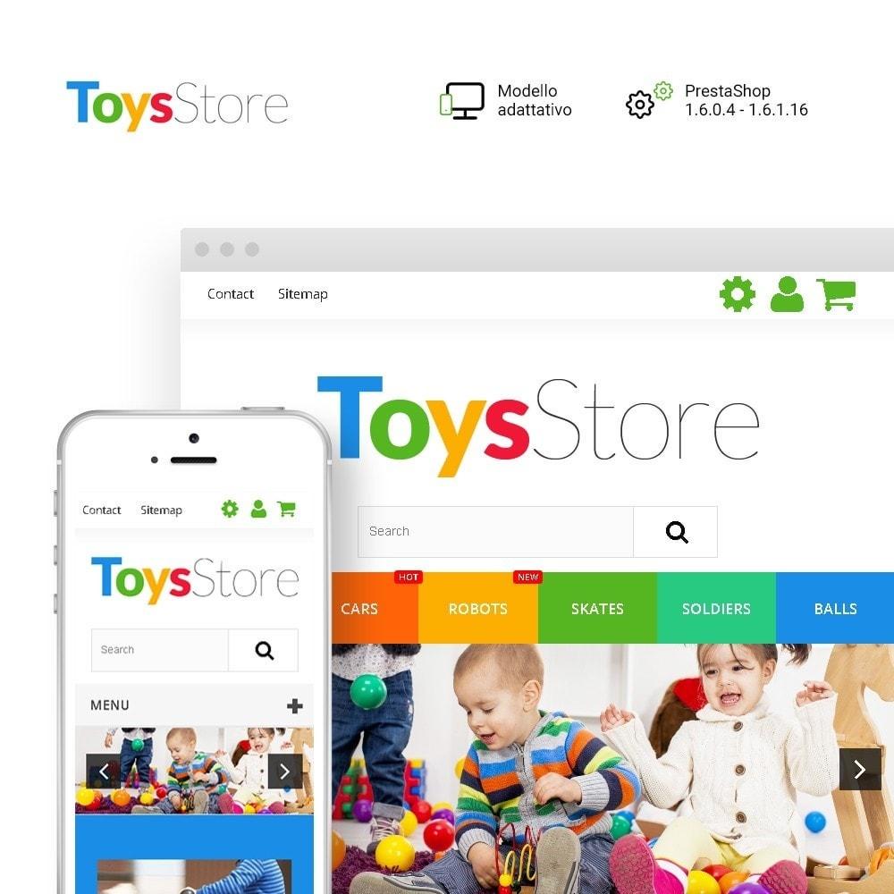 Toys Store - per Un Sito di Negozio di Giocattoli