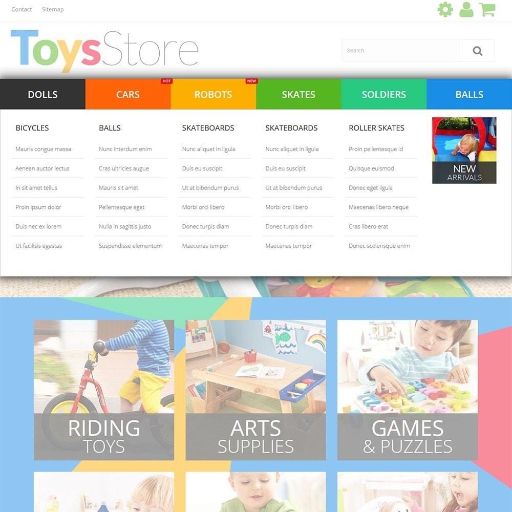 theme - Bambini & Giocattoli - Toys Store - per Un Sito di Negozio di Giocattoli - 6