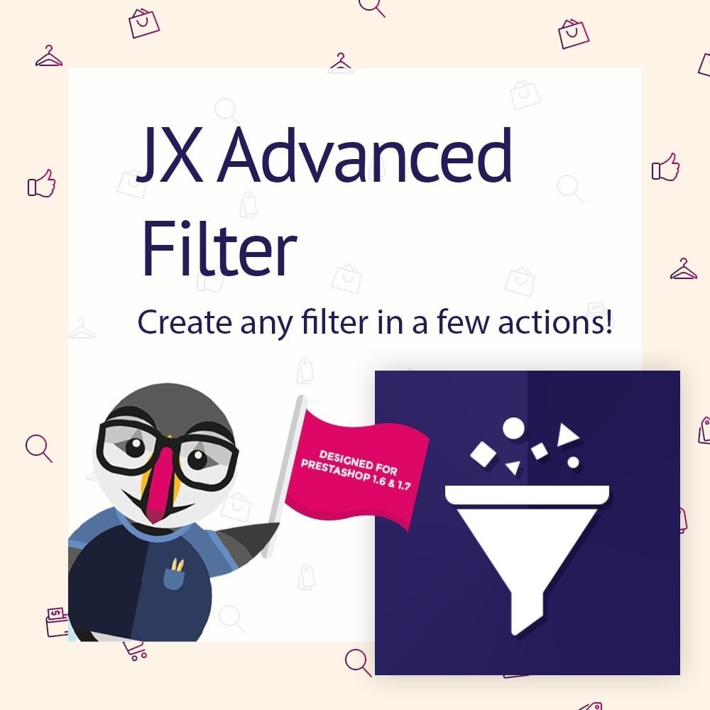 module - Zoeken & Filteren - JX Advanced Filter - 1