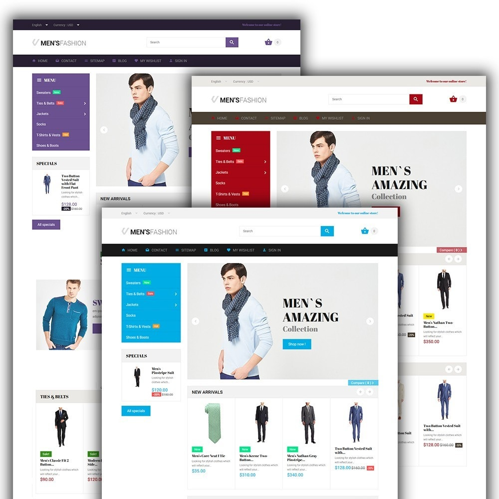 Men's Fashion - Fashion Store Template