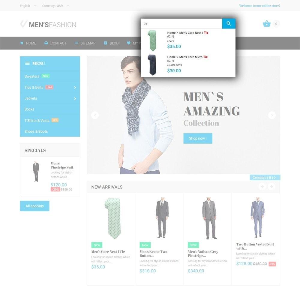 theme - Fashion & Shoes - Men's Fashion - Fashion Store Template - 6
