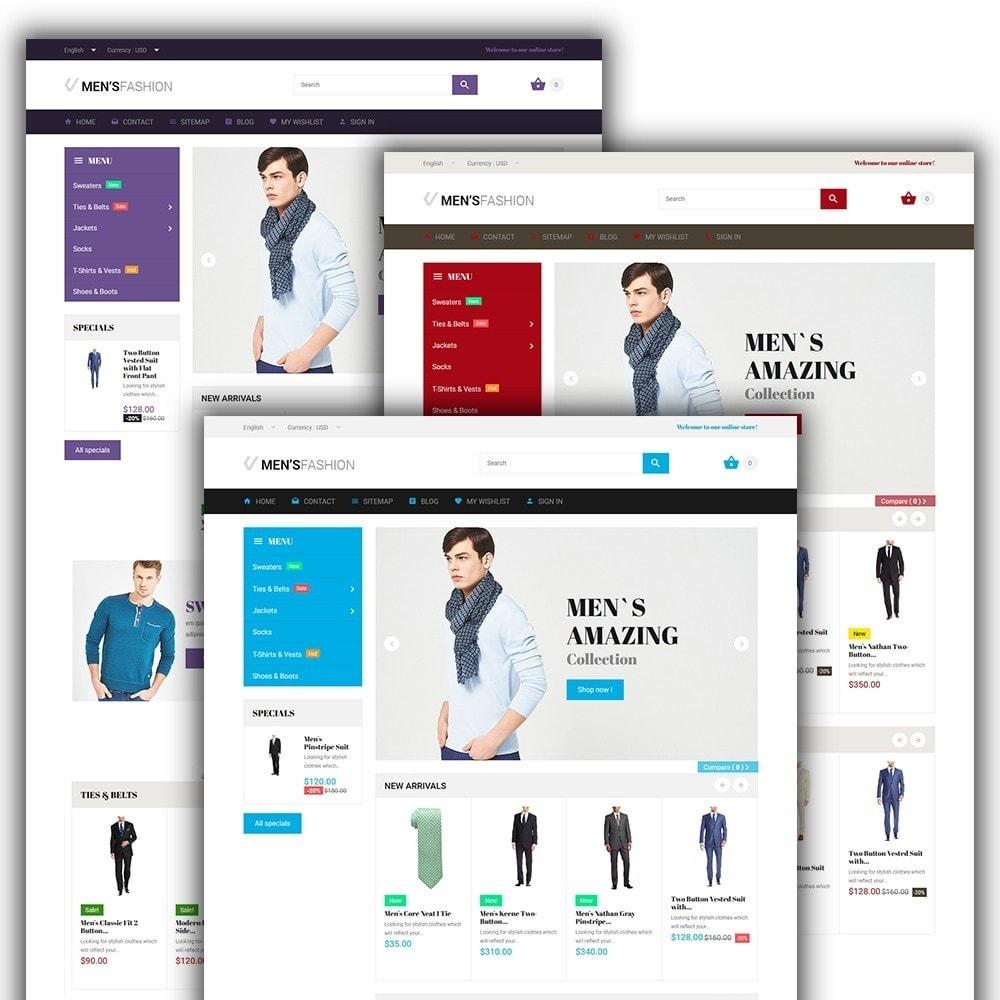 theme - Moda y Calzado - Men's Fashion - para Sitio de Tienda de Ropa - 2