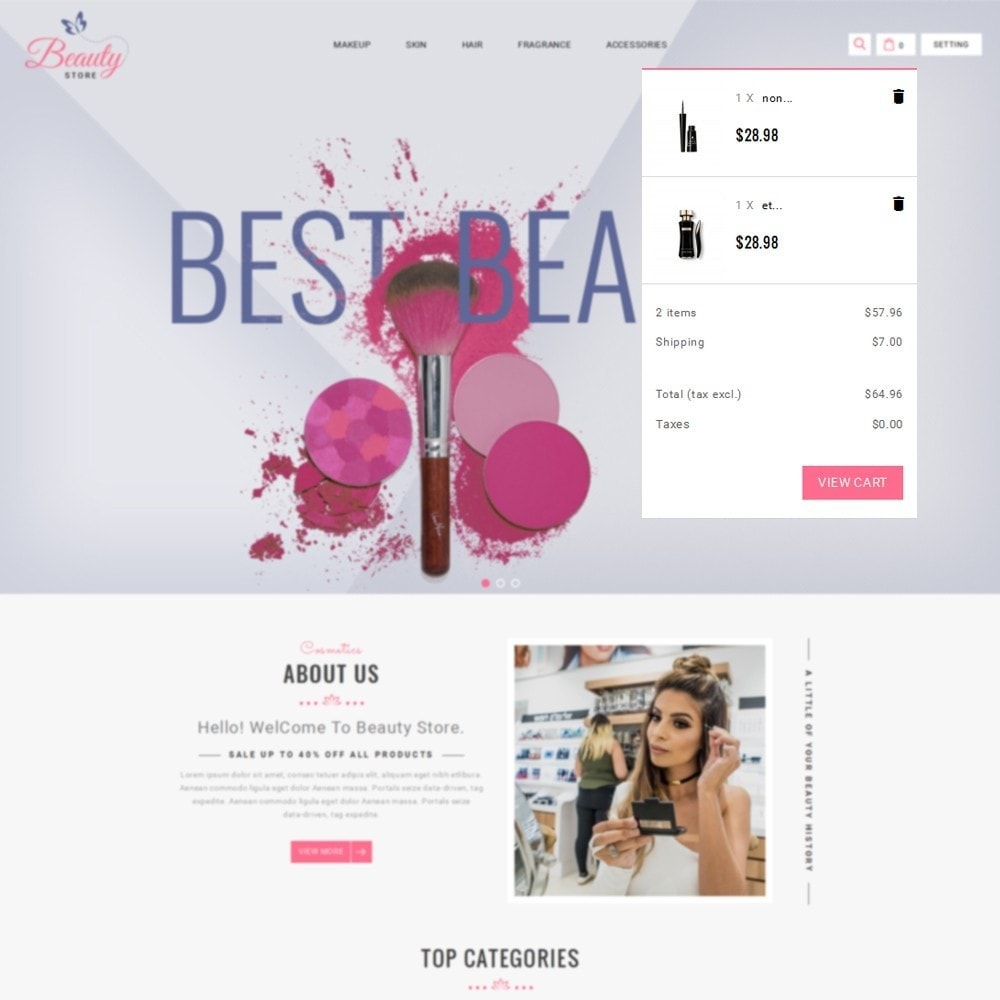 theme - Salute & Bellezza - Beauty Store - 8
