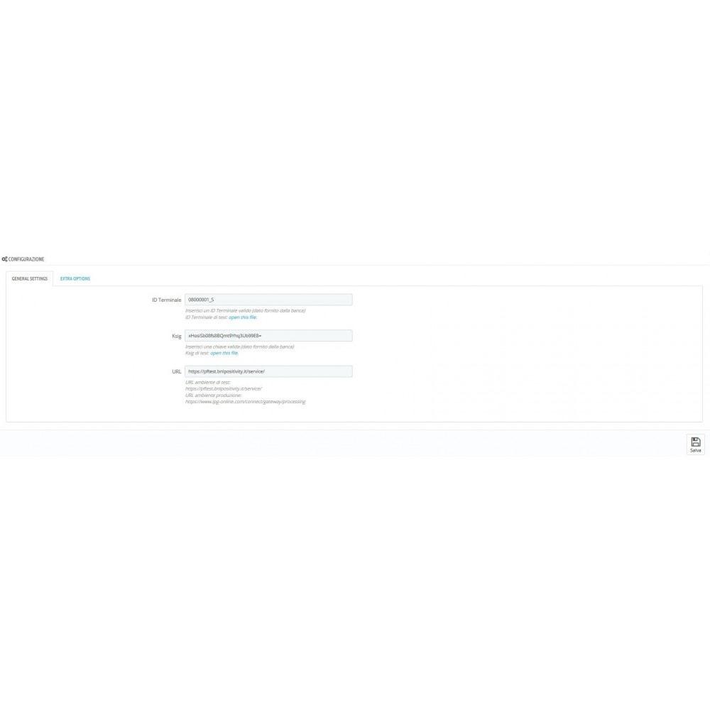 module - Pagamento con Carta di Credito o Wallet - Pagamento BNL Positivity - 2
