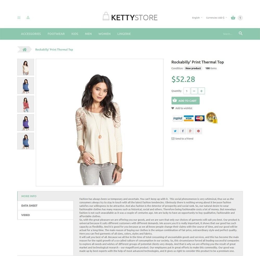 theme - Moda y Calzado - KettyStore - 2