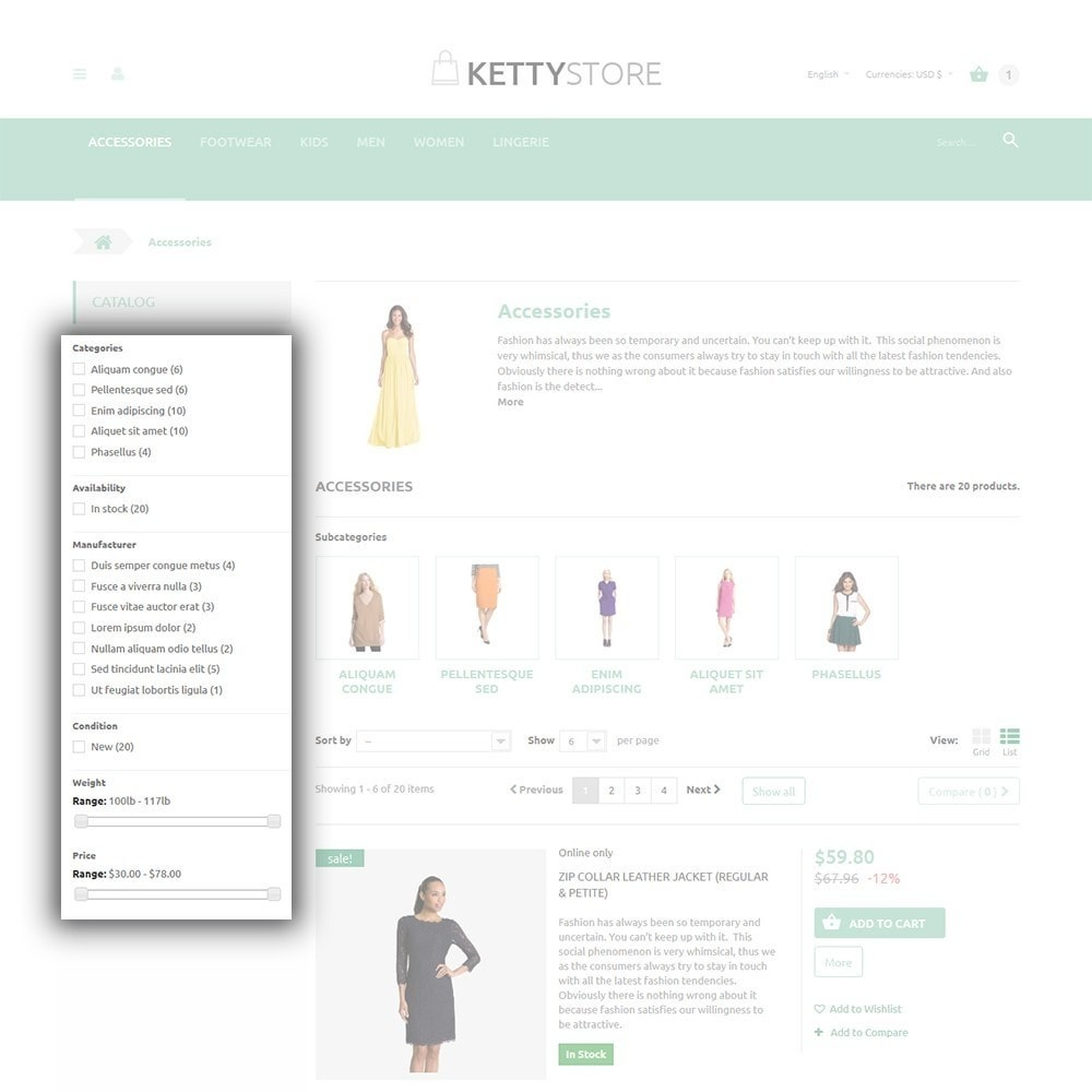 theme - Мода и обувь - KettyStore - 5