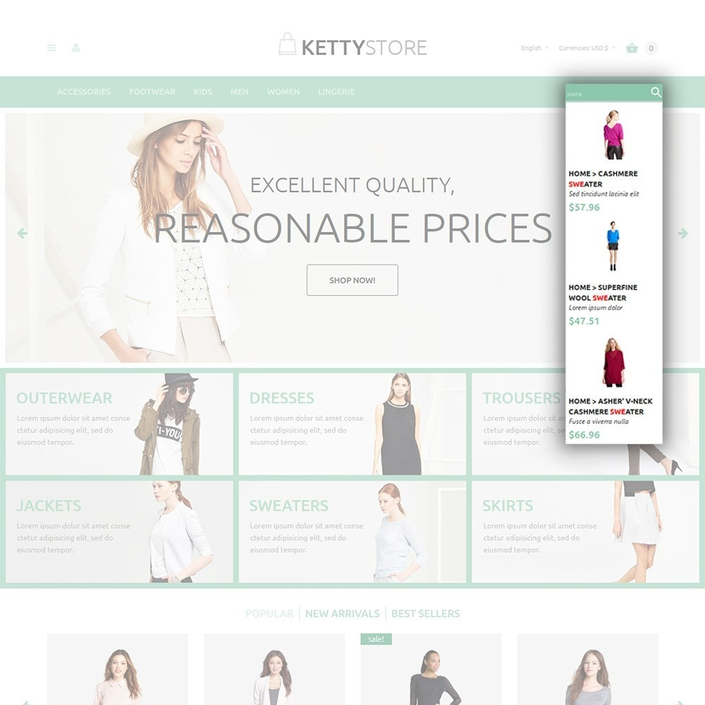 theme - Мода и обувь - KettyStore - 6