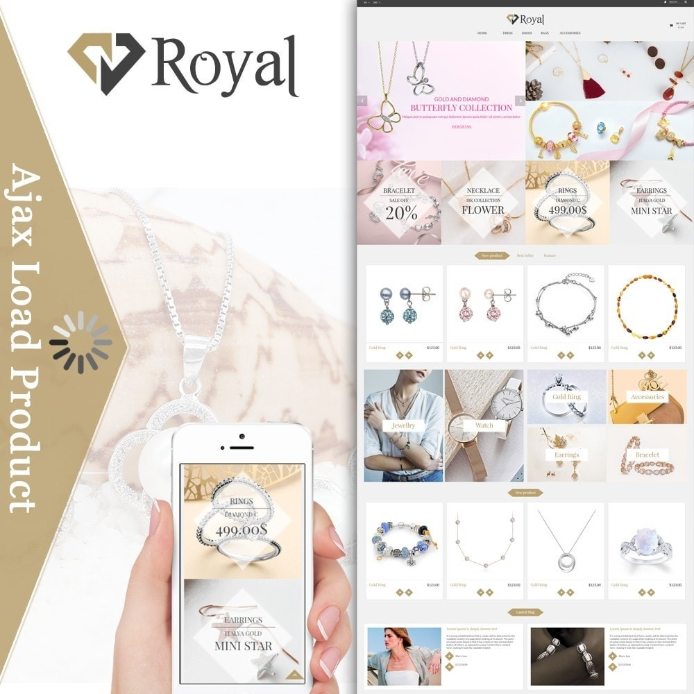 theme - Sieraden & Accessoires - Royal Jewelry & Accessories - 1