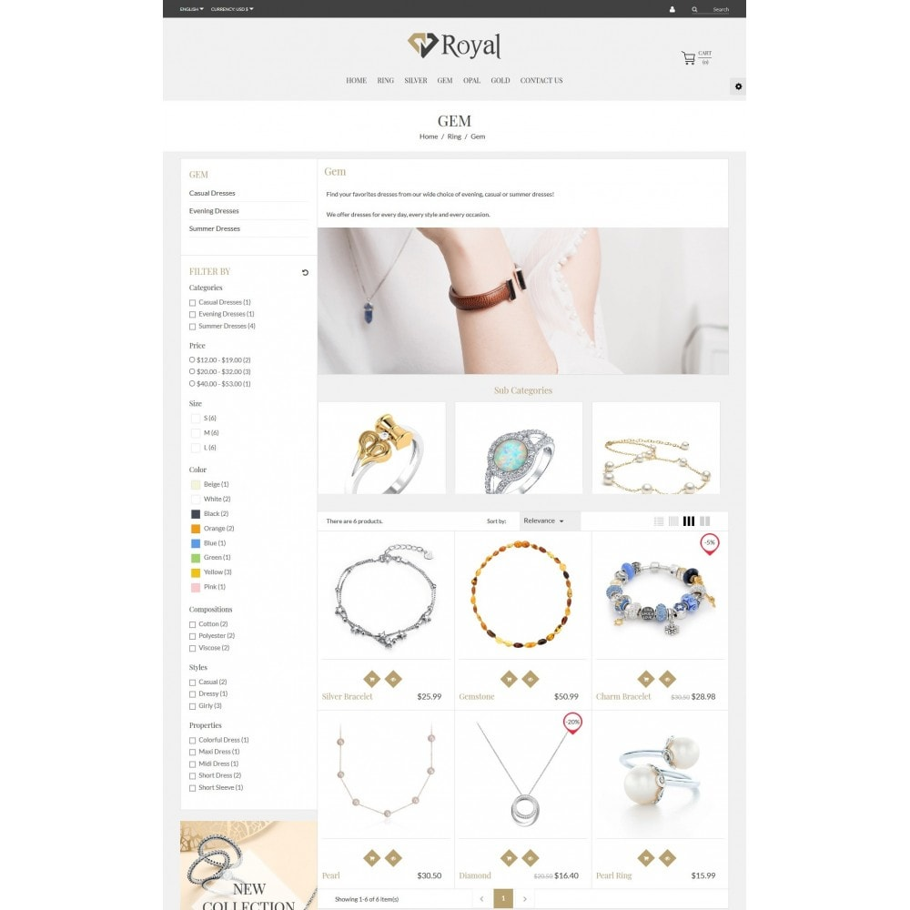 Royal Jewelry & Accessories