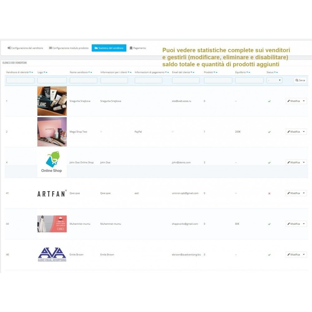 module - Creazione Marketplace - Simple Marketplace (Semplice marketplace) - 11
