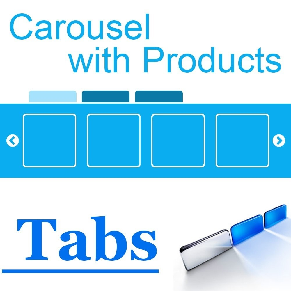 module - Produits en page d'accueil - Homepage Carousel with Products in Tabs - 1