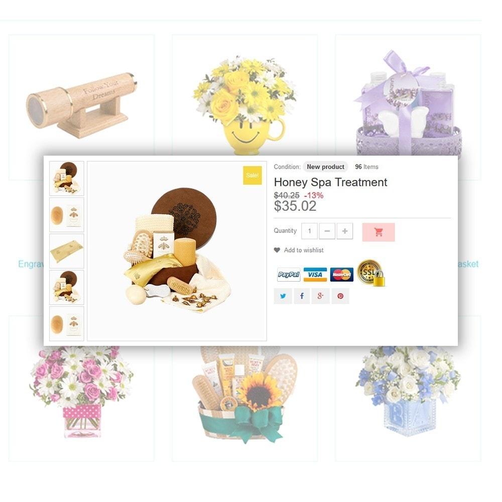 theme - Подарки, Цветы и праздничные товары - Gifts - 5