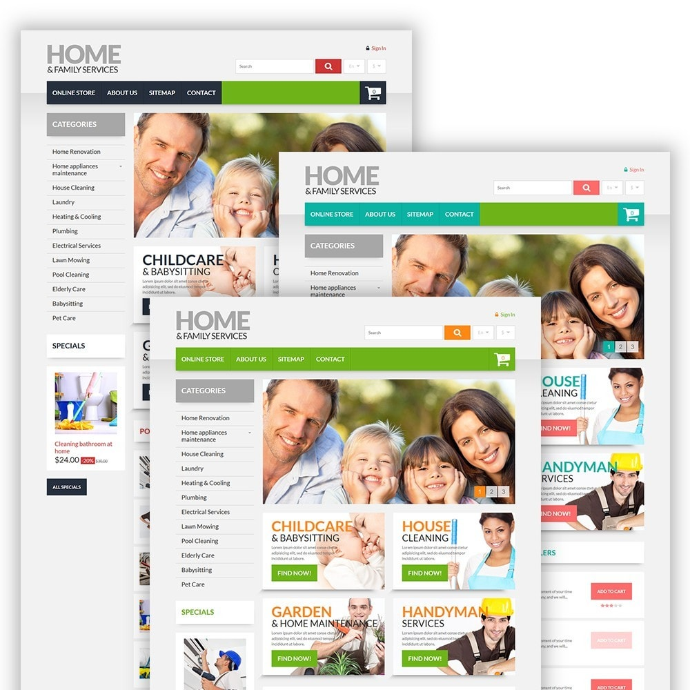 theme - Dom & Ogród - Home & Family Services - 2
