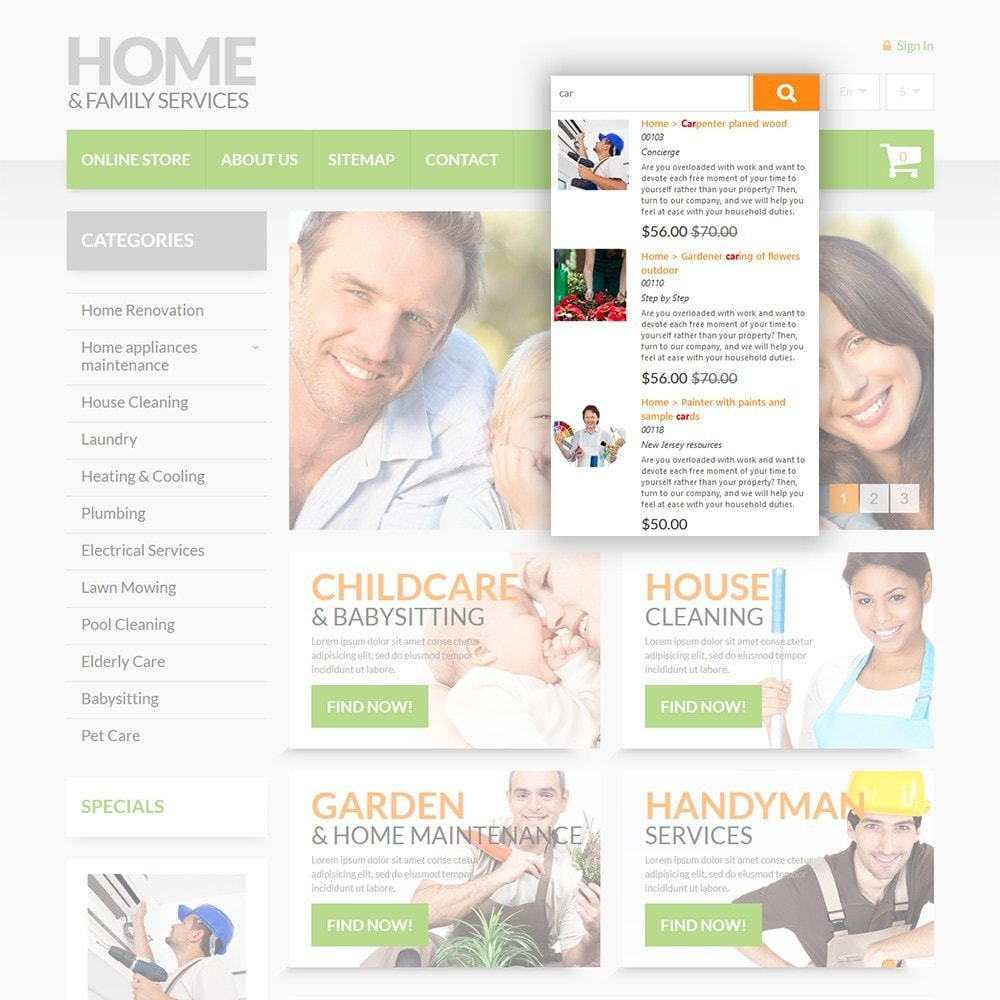 theme - Maison & Jardin - Home & Family Services - 6