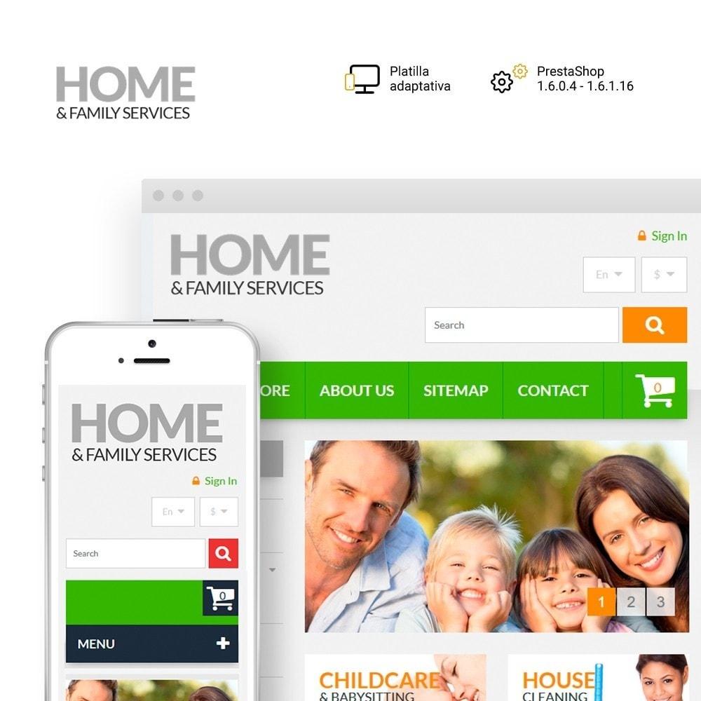 theme - Hogar y Jardín - Home & Family Services - 1