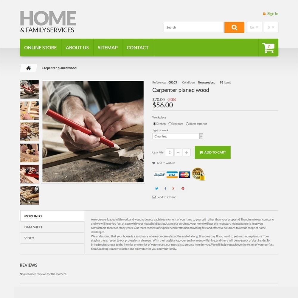 theme - Hogar y Jardín - Home & Family Services - 3