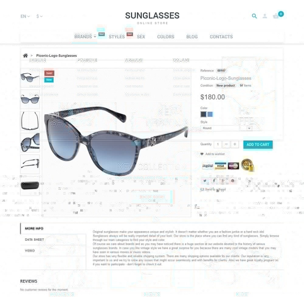 theme - Mode & Chaussures - Sunglasses - 3