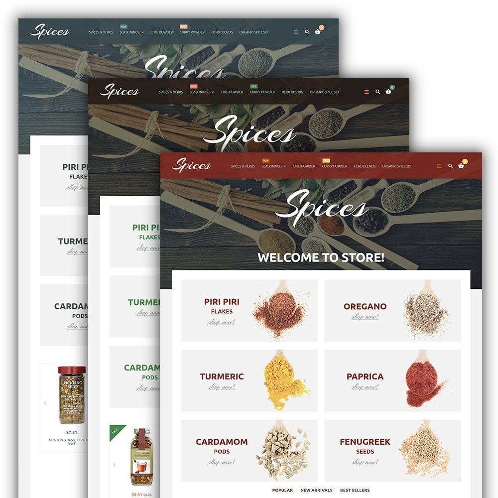 theme - Lebensmittel & Restaurants - Spice Shop - 2