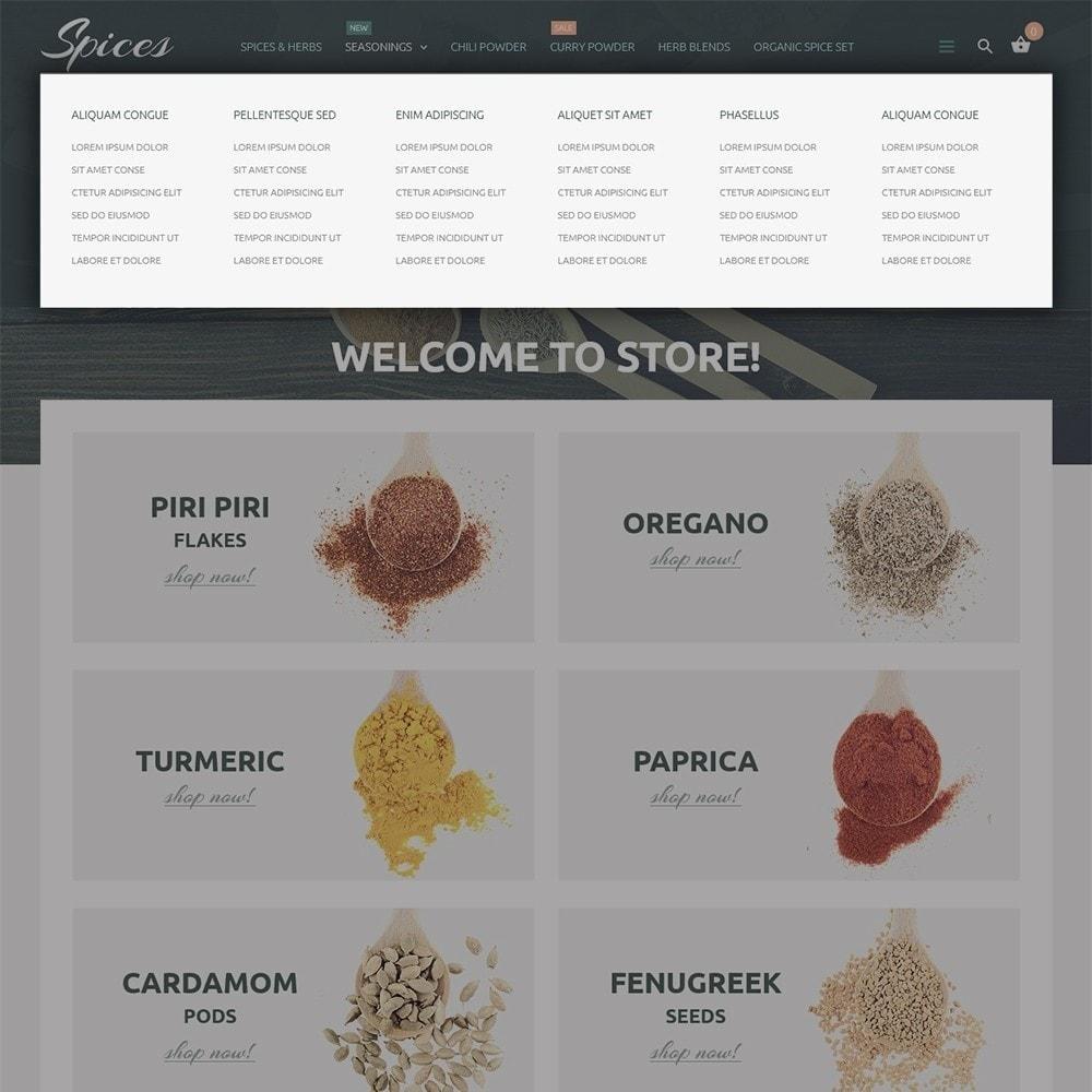 theme - Gastronomía y Restauración - Spice Shop - 5