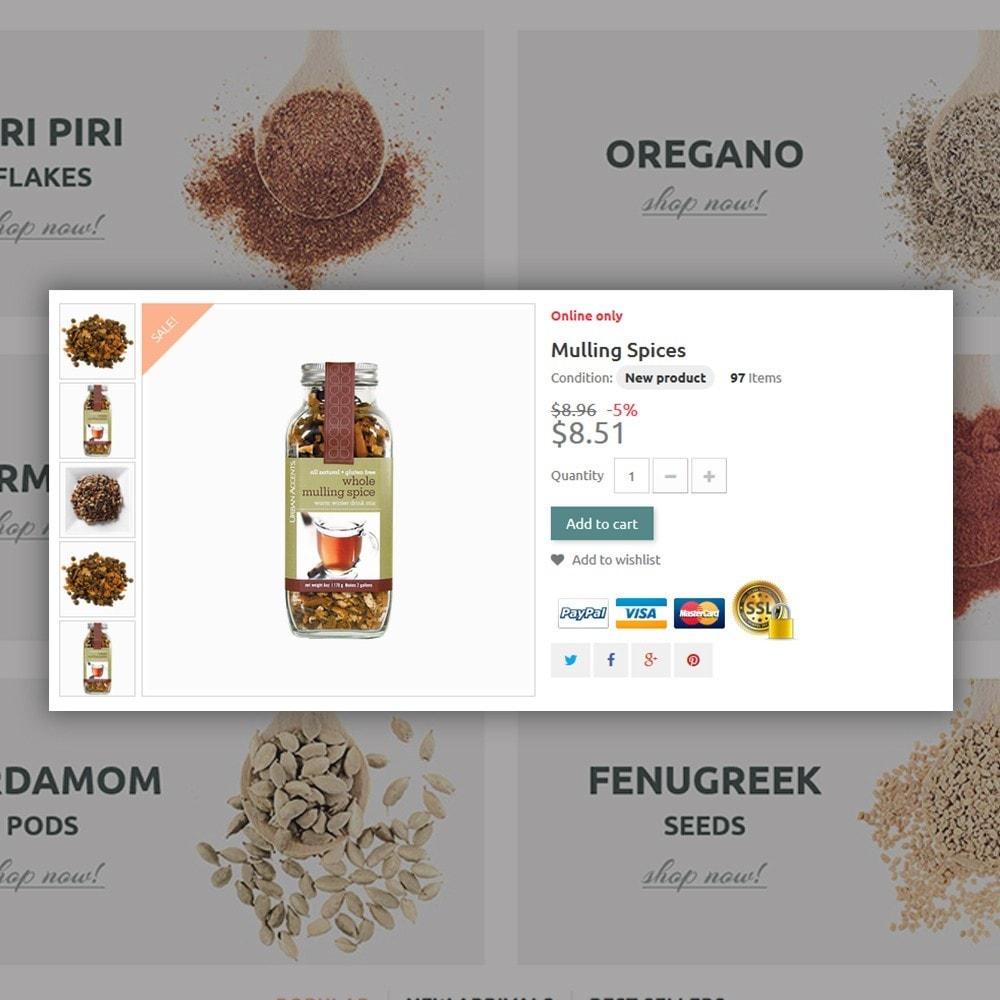 theme - Cibo & Ristorazione - Spice Shop - 4