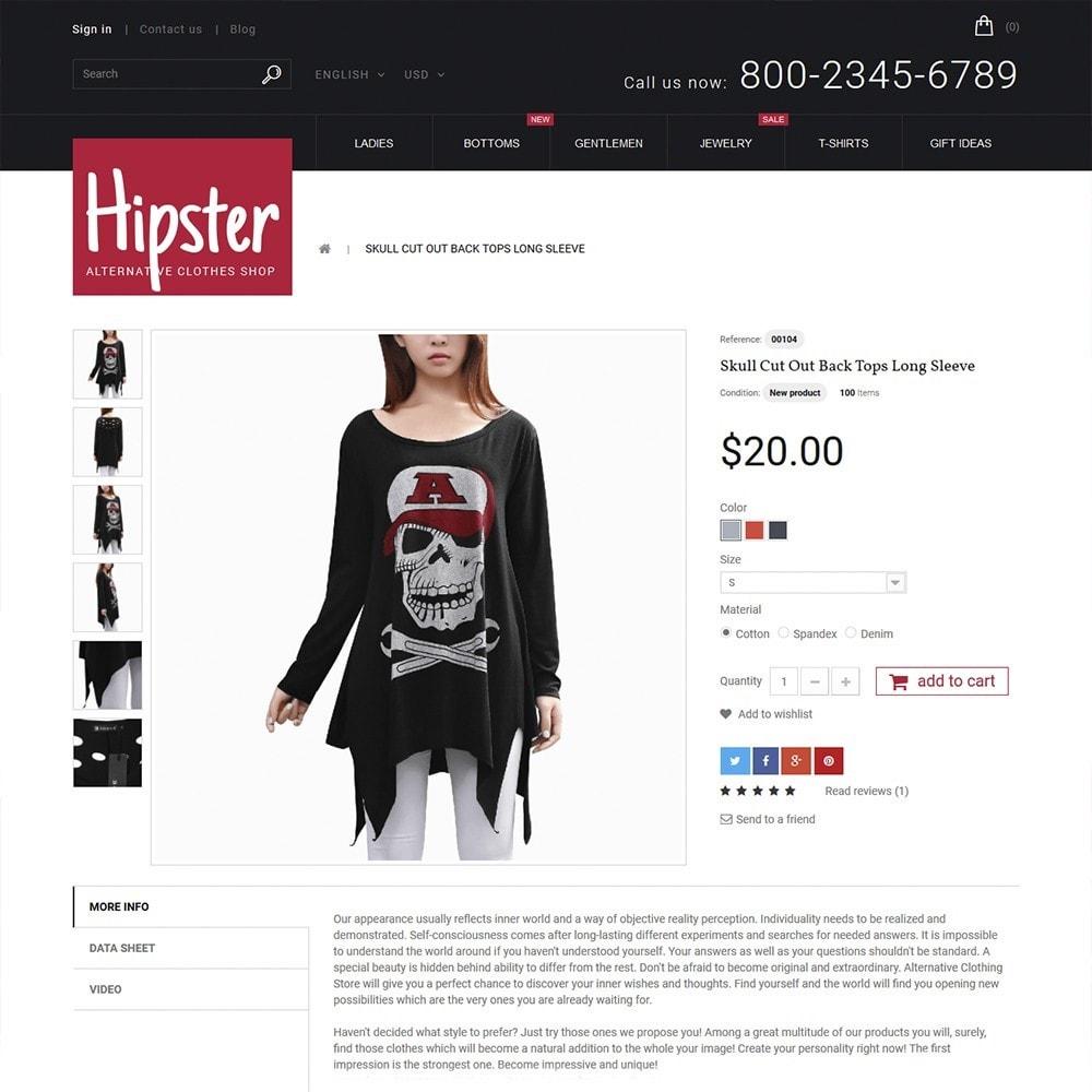 theme - Moda & Calçados - Hipster - Apparel Template - 3