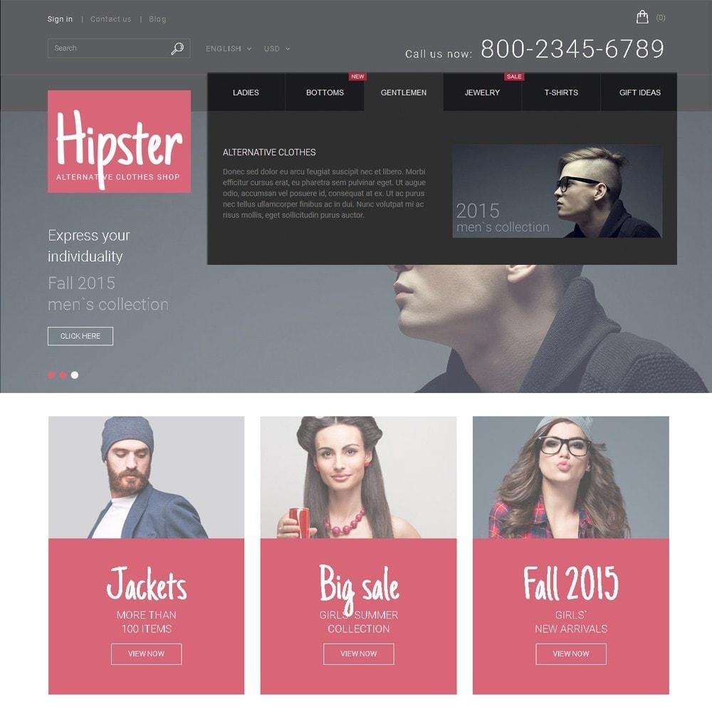 theme - Moda & Calçados - Hipster - Apparel Template - 5