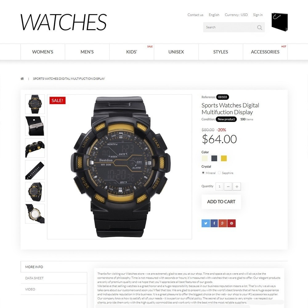 theme - Jewelry & Accessories - Watches - 3